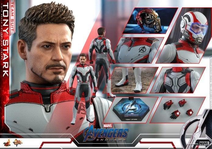 Hot Toys-Team-Suit-Tony Stark-Avengers-Endgame-Figure