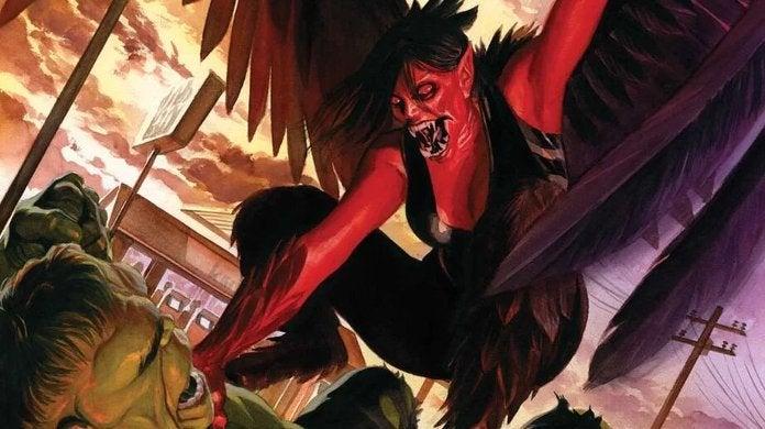 Immortal Hulk Red Harpy
