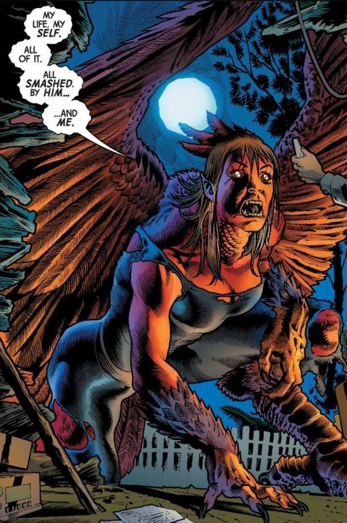 Immortal Hulk Red Harpy Betty Ross
