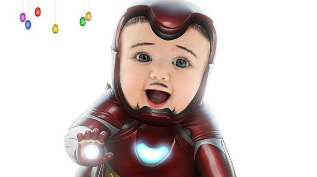 Marvel Fan Art Imagines Tony Stark's Iron Man as a Baby