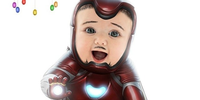 iron man baby bosslogic