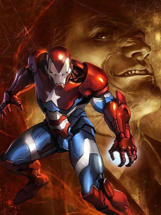 Iron Patriot Norman Osborn
