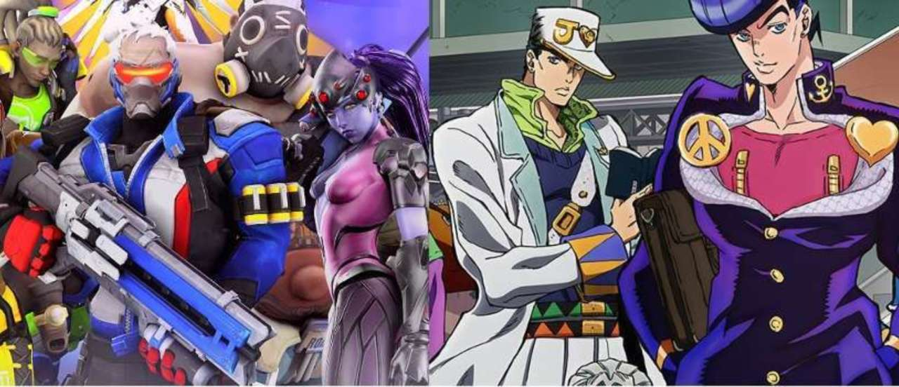 Jojos Bizarre Adventure Meets Overwatch With These Hilarious