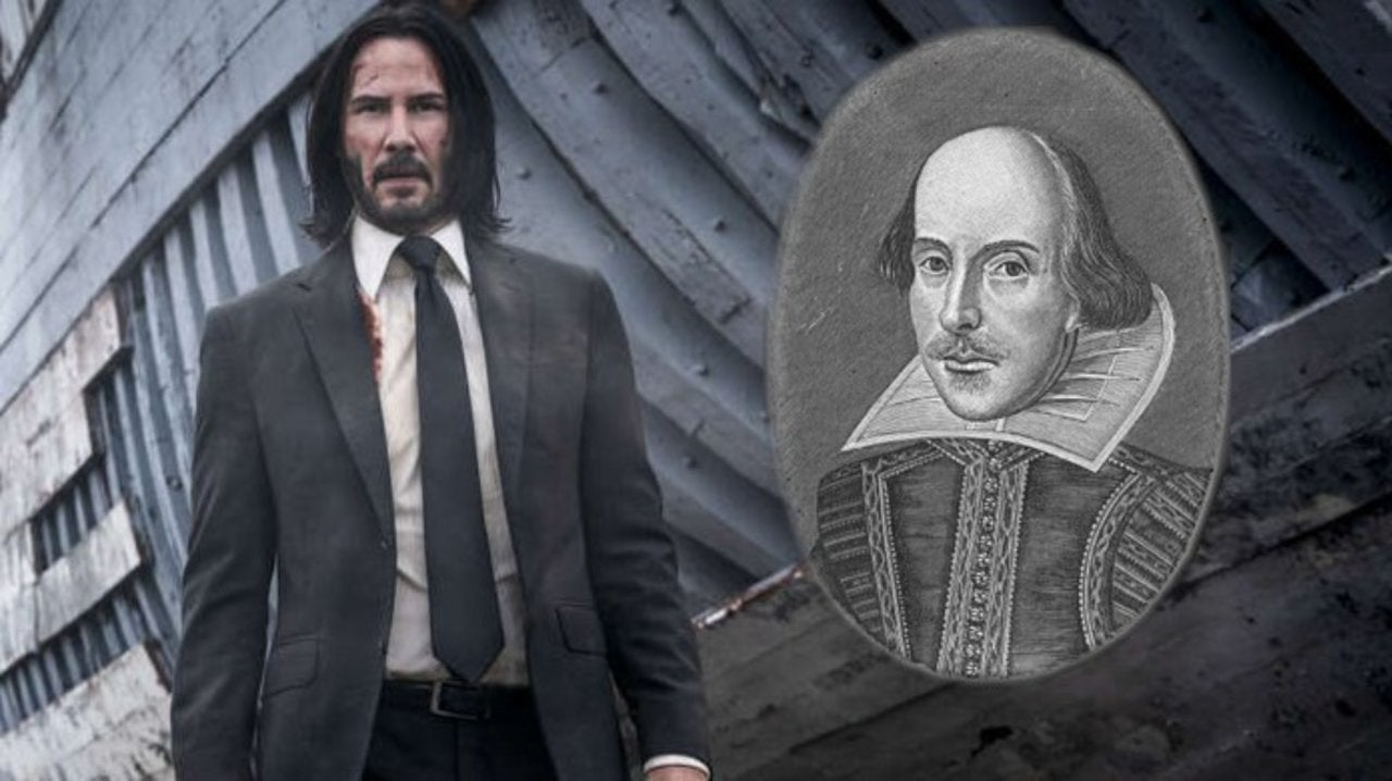 The Internet Doesn't Know How to Handle John Wick Star Keanu Reeves Being a Shakespeare Truther