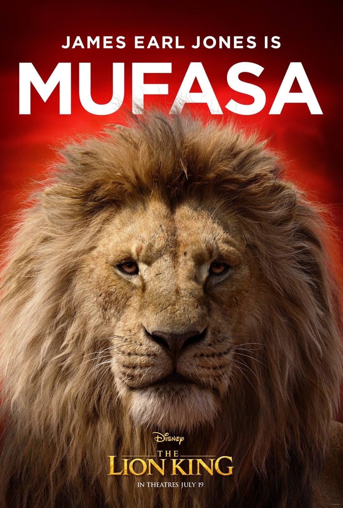 lion king poster mufasa