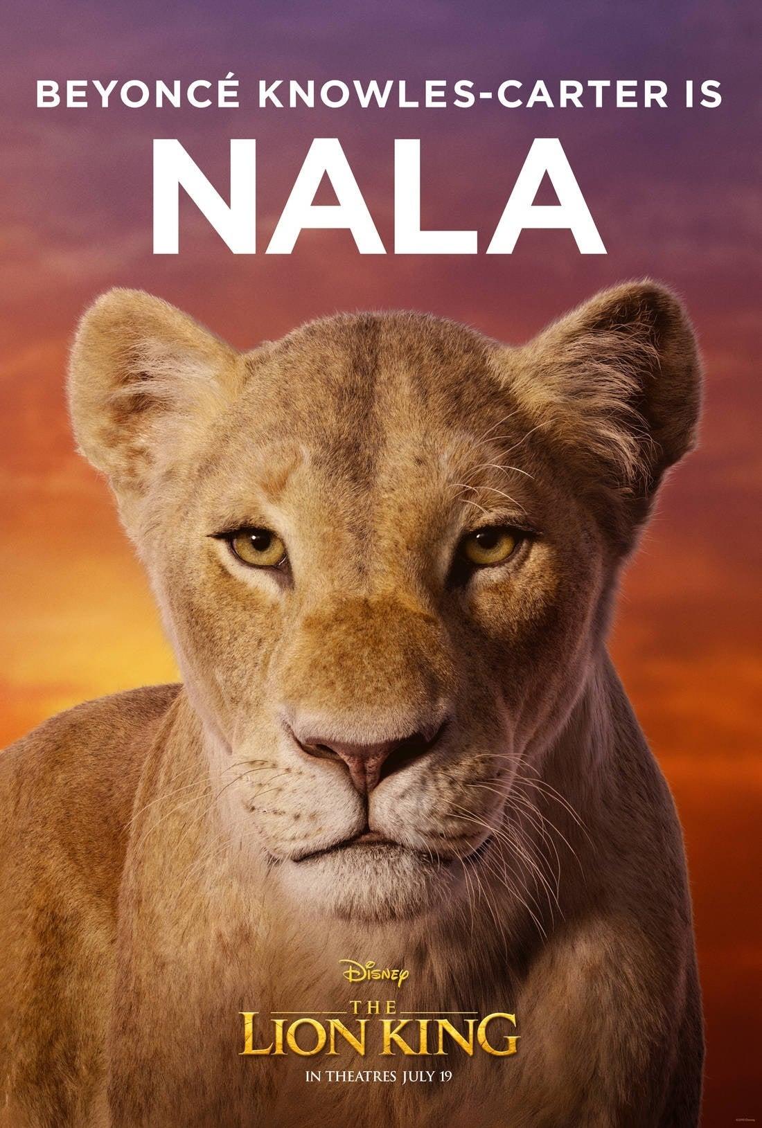 lion king poster Nala