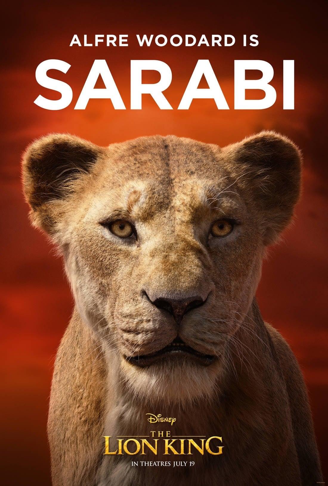 lion king poster Sarabi