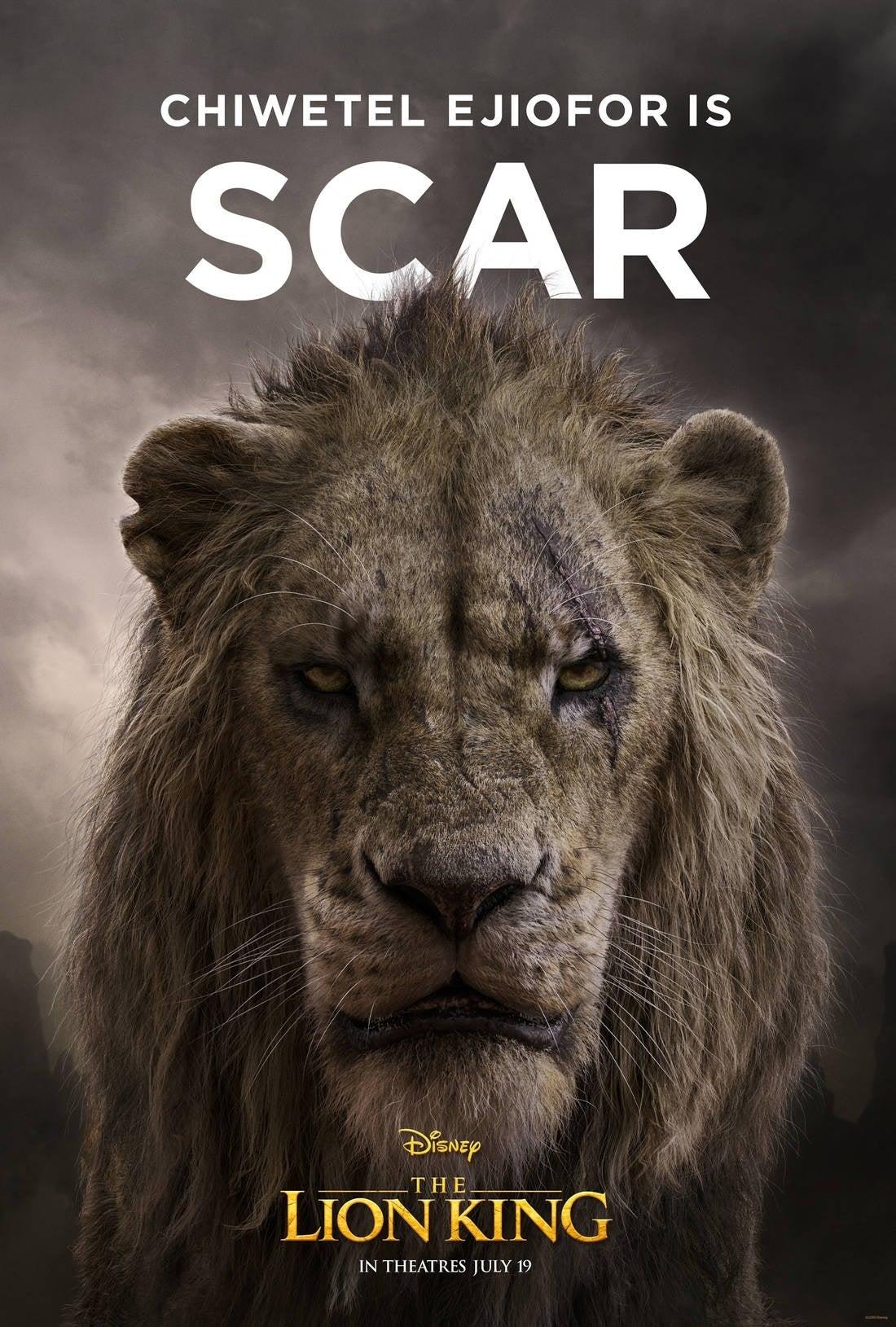 lion king poster Scar