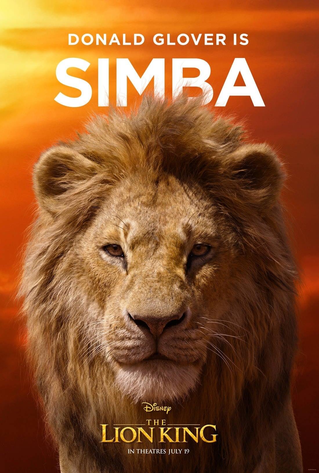 lion king poster Simba