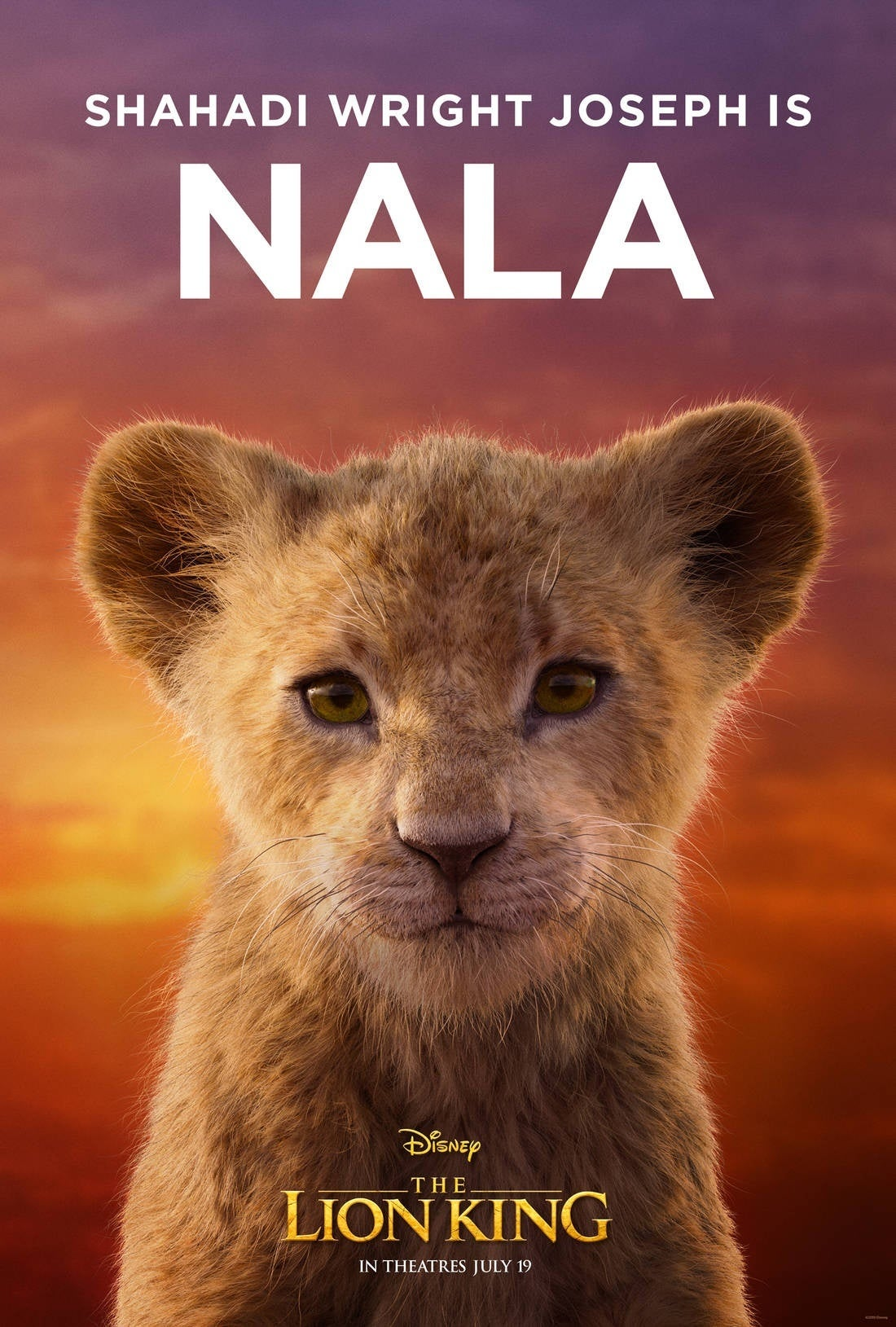 disney u0026 39 s the lion king character posters released