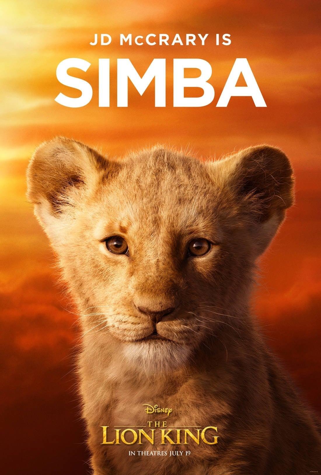 lion king poster Young Simba