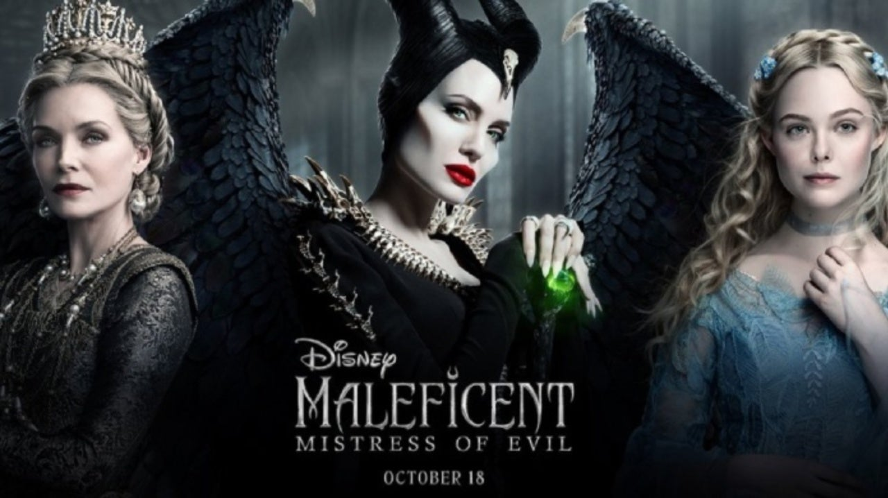 New Maleficent Mistress Of Evil Poster Spotlights Three Stars