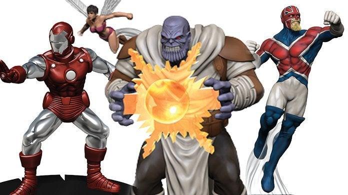 Marvel Avengers Black Panther Illuminati HeroClix