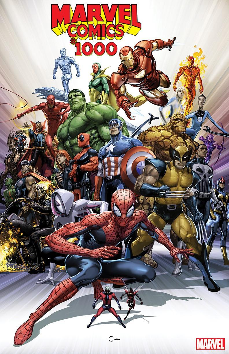 1000 Images About Bi Level Homes On Pinterest: New Marvel Comics #1000 Cover By Clayton Crain Sees Marvel