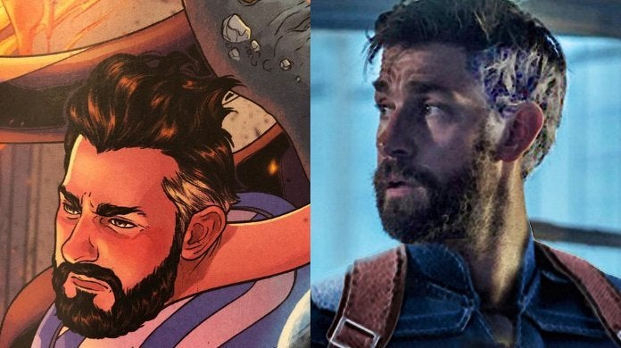 Marvel Comics War Realms Reed Richards John Krasinski