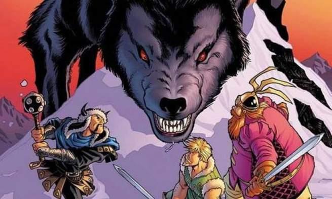 Marvel DC Kaiju - Fenris Wolf