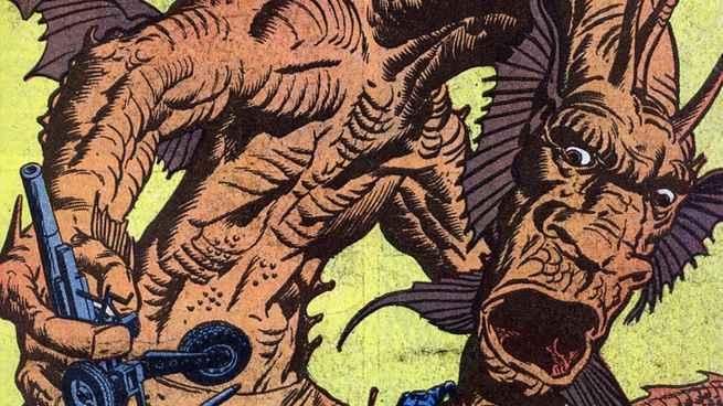 Marvel DC Kaiju - Fin Fang Foom