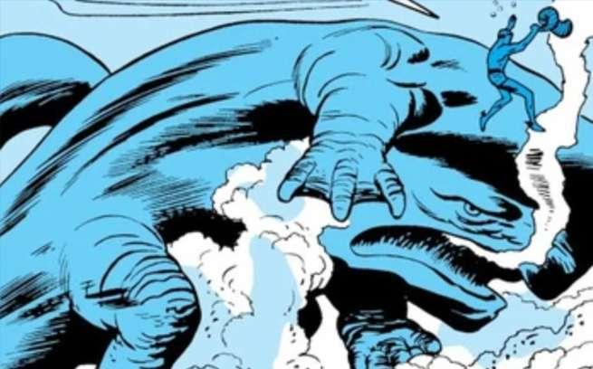 Marvel DC Kaiju - Giganto Atlantean