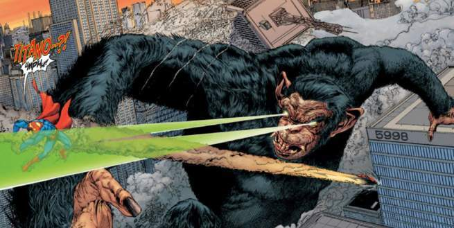 Marvel DC Kaiju - Titano the Super-Ape