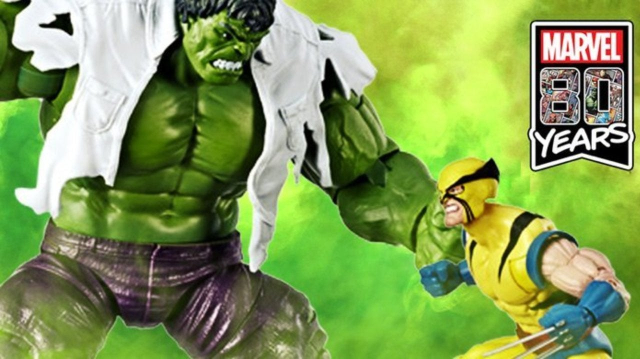 This Marvel Legends Incredible Hulk 2-Pack Celebrates Wolverine's First Appearance