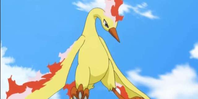 Pokemon Artwork Imagines An Electrifying Moltres