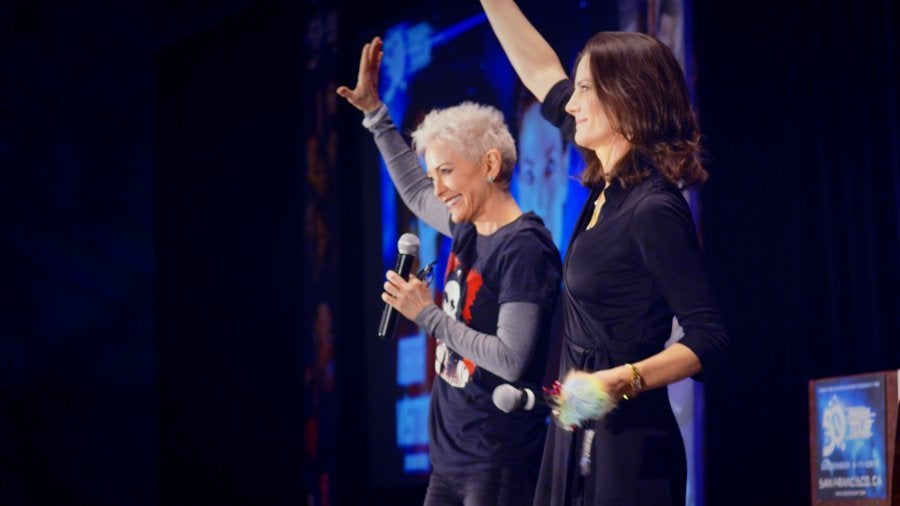 Nana Visitor Terry Farrell What We Left Behind