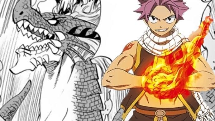 natsu fire god dragon