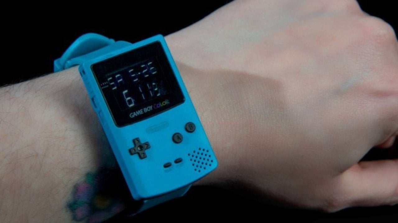 Nintendo Brings Back the Game Boy Color as a Retro Watch