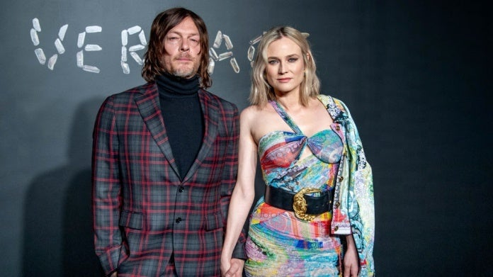 Norman Reedus Diane Kruger Photo by Roy Rochlin Getty Images)