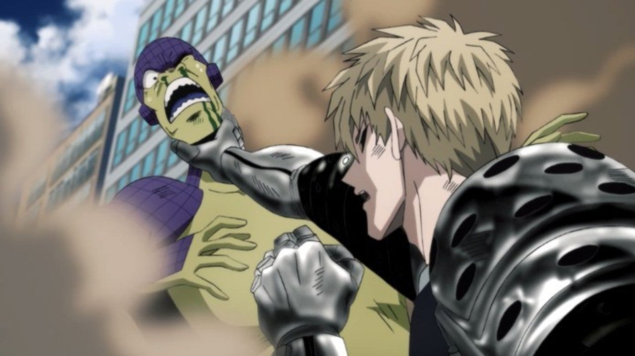 One-Punch Man Season 2 Finally Unleashes Genos For an Epic Monsters