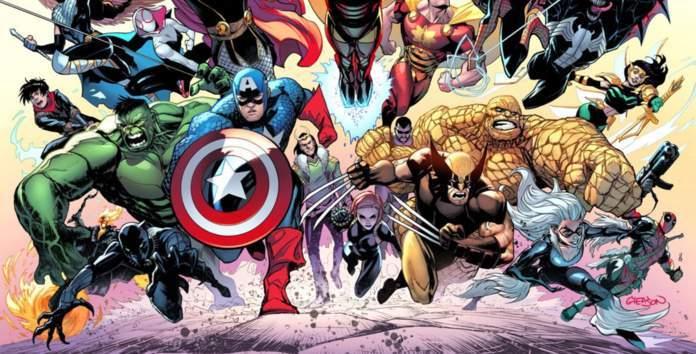 Patrick Gleason Marvel - Cover