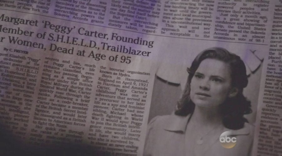 Peggy Carter Obituary