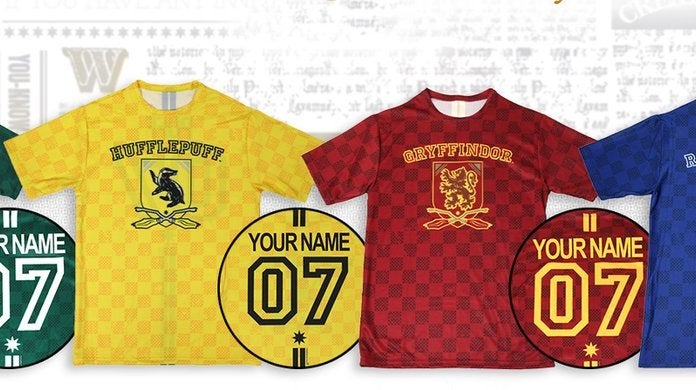 d34ca4c8f Personalized Harry Potter Quidditch Jerseys Are Back