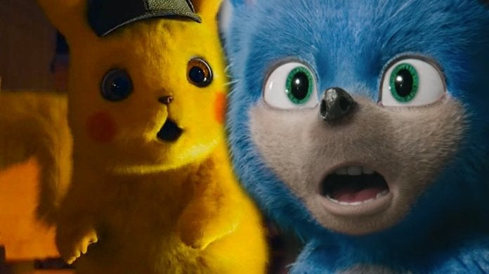 pokemon detective pikachu sonic the hedgehog