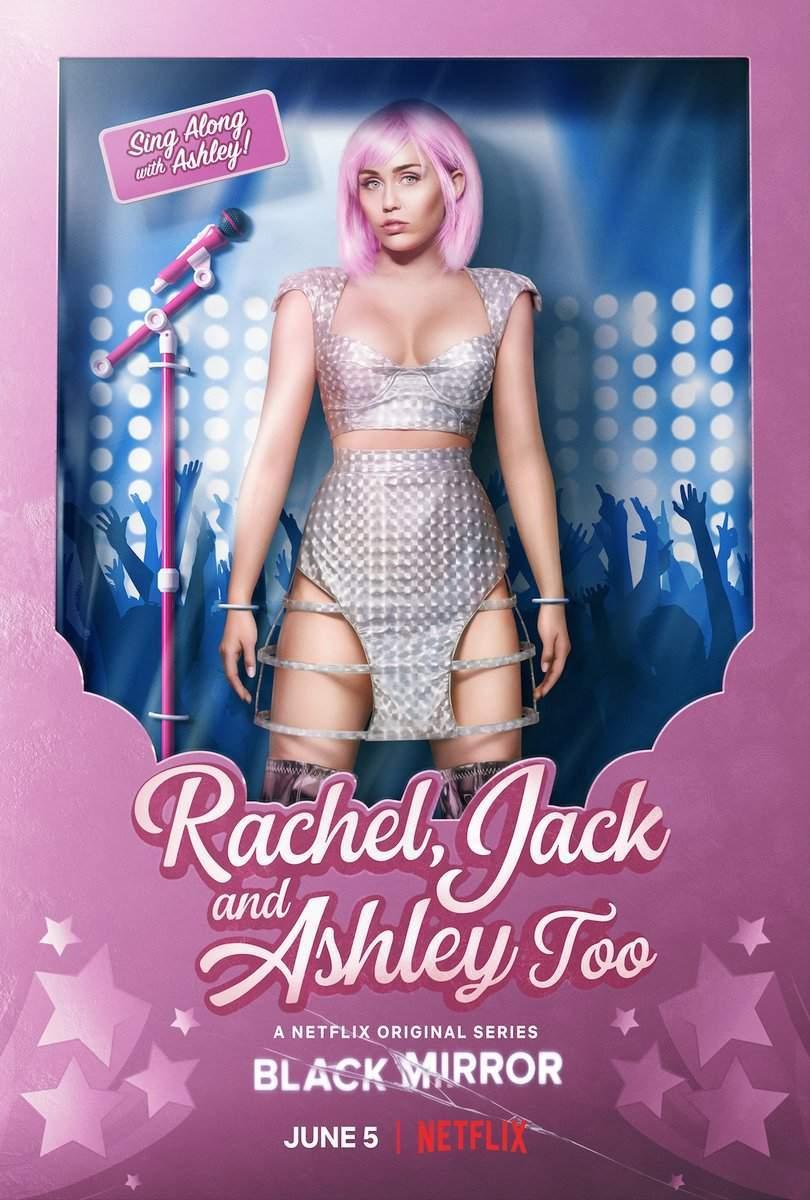 Rachael, Jack e Asheley também