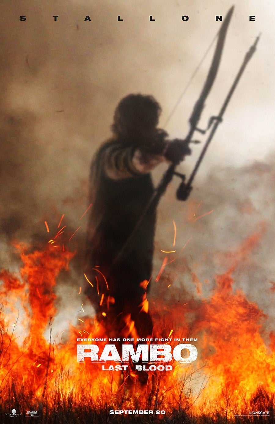 Image result for rambo last blood poster