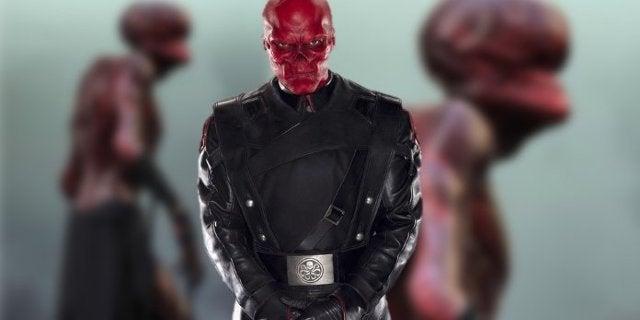Red Skull Stonekeeper Concept Art for Avengers Infinity War