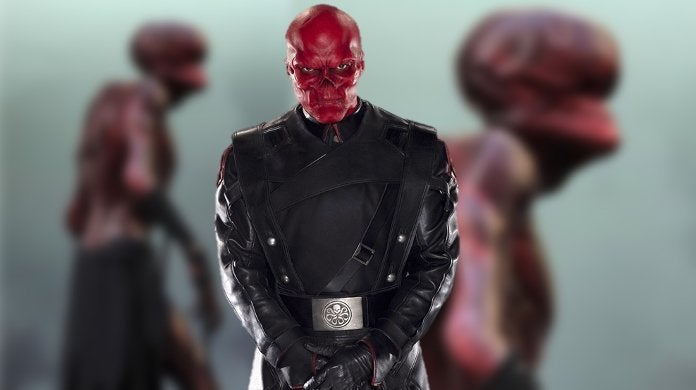 Red Skull Stonekeeper Concept Art for Avengers Infinity War
