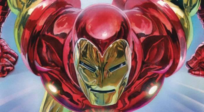 Retailer Incentive Alex Ross Iron Man #1