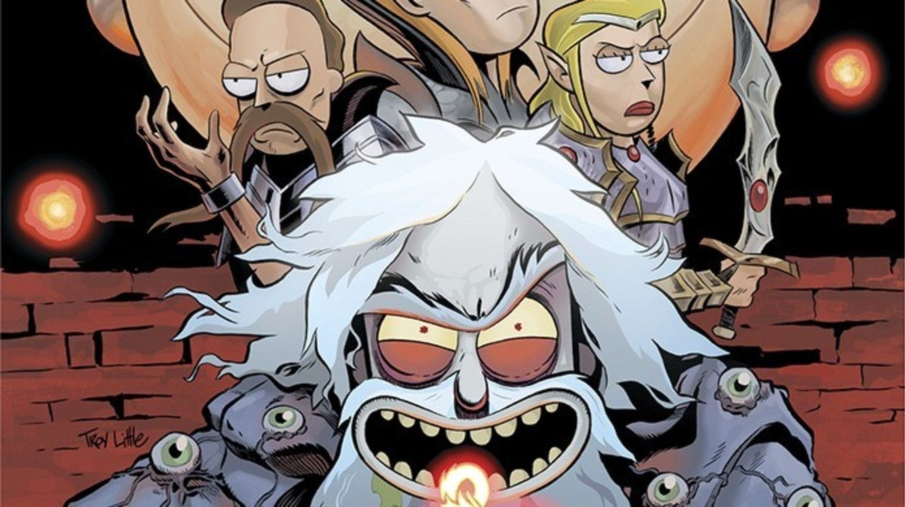 Rick and Morty Returns to Dungeons & Dragons