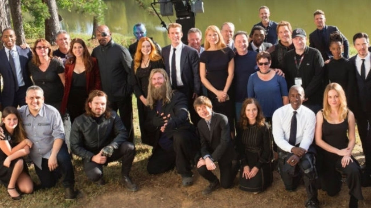 Russo Brothers Share Behind The Scenes Avengers Endgame Photos