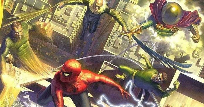 Sinister Six MCU - Cover