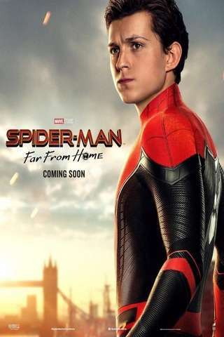 Spider-Man: Far From Home movie poster image