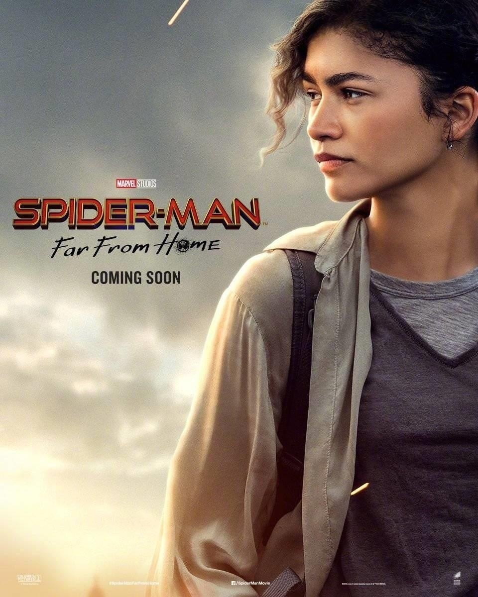 spider-man far from home mj