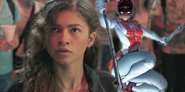 Spider-Man Far From Home MJ Zendaya Superhero Costume Spinneret