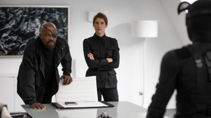Spider-Man Far From Home Nick Fury Maria Hill