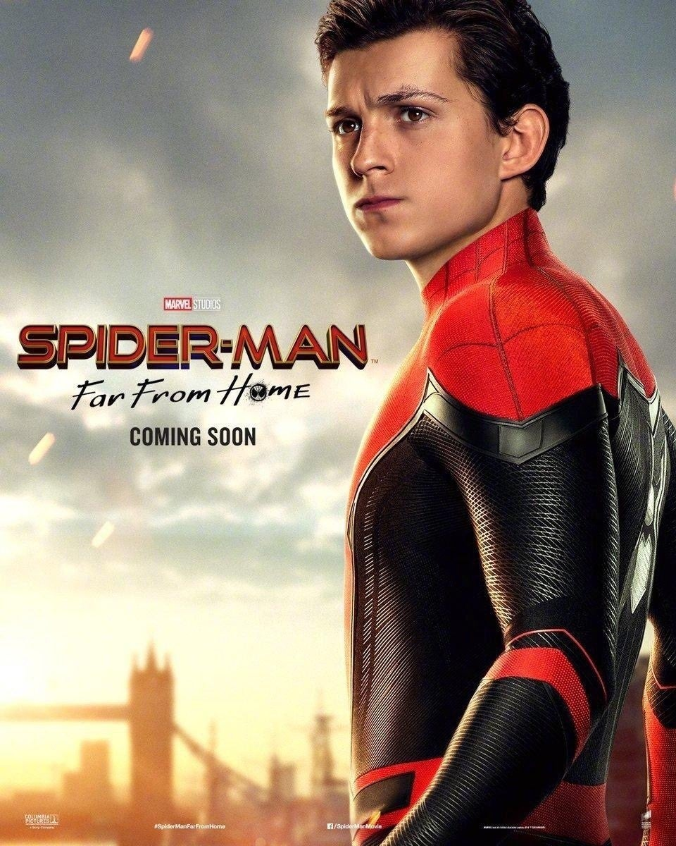 spider-man far from home peter