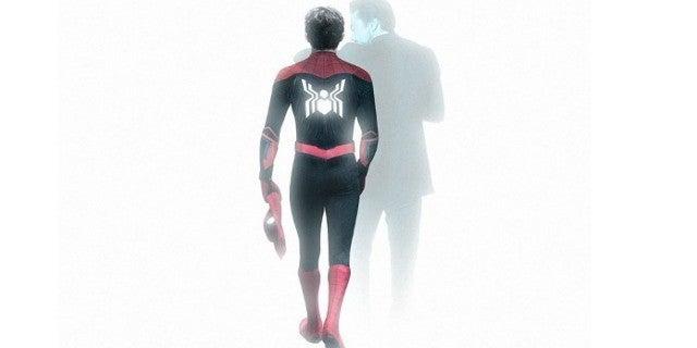 Spider-Man Remembers Tony Stark Iron Man by BossLogic MCU