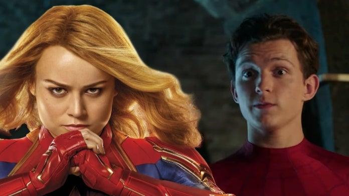 SpiderMan Far From Home Captain Marvel