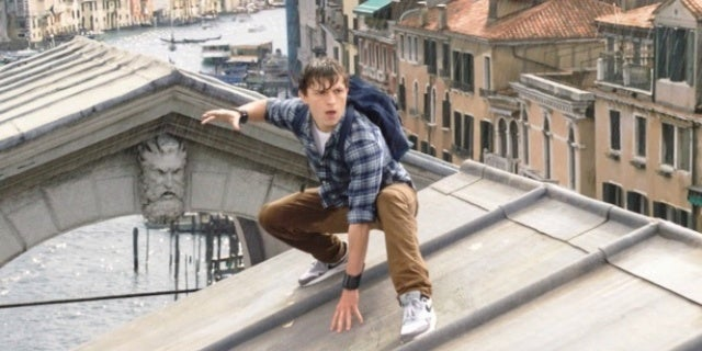 SpiderMan Far From Home Peter Parker